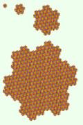 少しずつ形を変えながら成長していくアメーバ