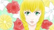 魔女の家 ヴィオラと花