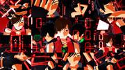 【MMD】赤黒MEITOでヒビカセ【静止画像集】