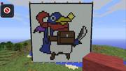 【Minecraft】プリニー建造してみた【vita】