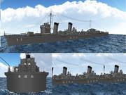 【MMD海軍】 特型駆逐艦用船体ラベル