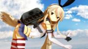 【MMD艦これ】島風魚雷発射シーン