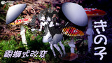 【モデル配布あり】銀獅式改変・きの子【だって菌類だもの】