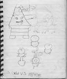 子供時代に描いた漫画の黒歴史001