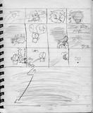 子供時代に描いた漫画の黒歴史003