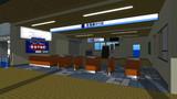 【MMD】あの駅の昔の改札付近
