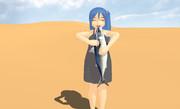 【第一回MMDダジャレ選手権】砂漠でサバ食う