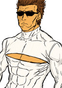 ターミネーターに例のタートルネックを着せてみた