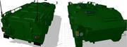 96式装輪装甲車の作業工程4