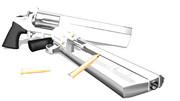【MikuMikuDance】オリジナル装飾回転式拳銃 Dragonar&Guardian