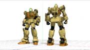 【MMD】RGM-79[G] 陸戦型ジム(ぴょん式陸戦型ガンダム改変)【モデル配布あり】
