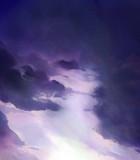 雲が包んでいく空