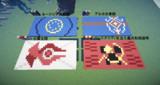 【Minecraft】自国以外の国旗
