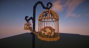 【minecraft】初投稿【鳥かごの家】