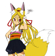 狐、ポニーテールになりますヾ( ・w・)ノ゛