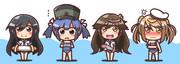 潜水艦コスプレ