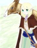 エルフの旅人