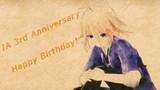 IA 3rd Anniversary