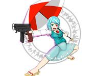 アルカプ風小傘(ジル)