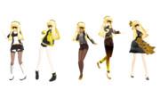 MMD Cyber Diva【モデル配布】