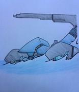 駆逐艦イ級、水没艦オ級
