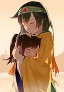 飛龍お母さんとしおいちゃん