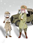 満州国軍VVAN姐と日本軍ESK