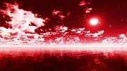 【MMDステージ配布】赤い空 N7【スカイドーム】