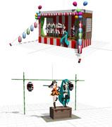 【MMDモデル配布】艦これアニメ四話ステージ【あの歌とか】