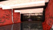 桜和モダン部屋