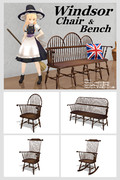 Windsor Chair & Bench