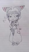 【ウル4】ジュリ【ボールペン一発描き】