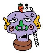 頭にニンジンを植えられる変態