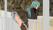 ・・・ 鈴谷のオシリに何かついてる?