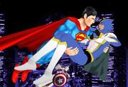 ヒーローがヒーローをお姫様抱っこってコレ【MMDタイバニ】