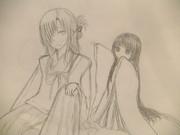 紫紋と千鶴子