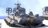 【Minecraft】エアクッション揚陸艦