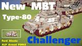 New MBT Type-80 Challenger