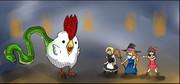 クッキー☆2の中盤あたりに出てくるバジリスク戦