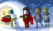 日本の冬は寒いから