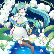 雪ミク2015