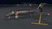 夜間飛行前