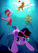 馬って実は泳ぐの得意なんですよ