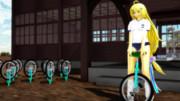 一輪車収穫祭