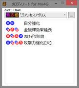 狩猟笛の旋律カンペツール for MH4G 公開!