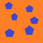 五角形たち