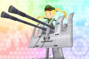 【MMD艦これ】3.7cm FlaK M42妖精ver1.0