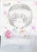 【誕生日】日本さん描いた
