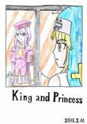 King and Princessよりシオンとブリジット 色付け版