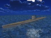 【MMD海軍】UボートIXC型(のようなもの)1.0
